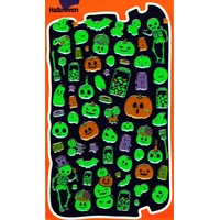 stickers halloween phosphorescent