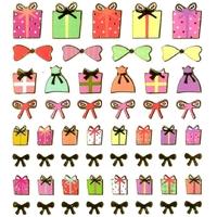 stickers cadeaux detail