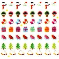 196 mini stickers hiver