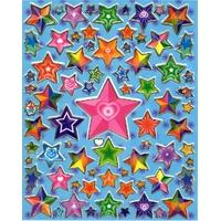 80 stickers Rainbow Etoiles