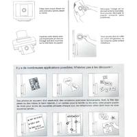 mode d'emploi papier aimante pour magnet