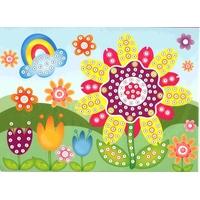 Puzzle Mosaiques Strass Fleur