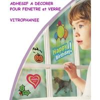 Feuille A4 Vitrophanie (Décoration Fenètres)