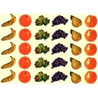 30 gommettes Fruits d'Automne