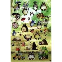 30 gommettes Totoro