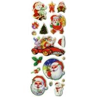 Gommettes décoration Noël 3D