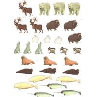 gommettes animaux du pole nord