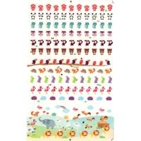 153 gommettes 3D petits animaux divers