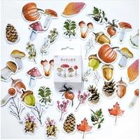 gommettes foret champignon automne