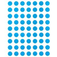 88 Gommettes rondes Bleues 10mm