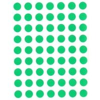 88 Gommettes rondes Vertes  10mm
