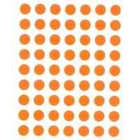 88 Gommette Géométrique Maternelle Orange 10mm