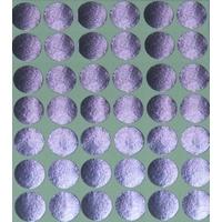 30 Gommette Maternelle Métallisée Argent 19mm