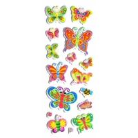papillons bugs gommette adhesive autocollant sticker decoration scrapbooking  rigide JFxx