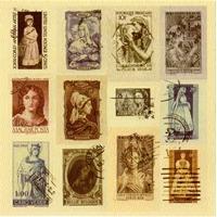 Vintage Stamp USA