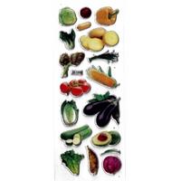 gommette autocollante legumes