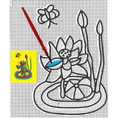 Peinture magique l 39 eau n nuphar magommette - Peinture a l eau ...