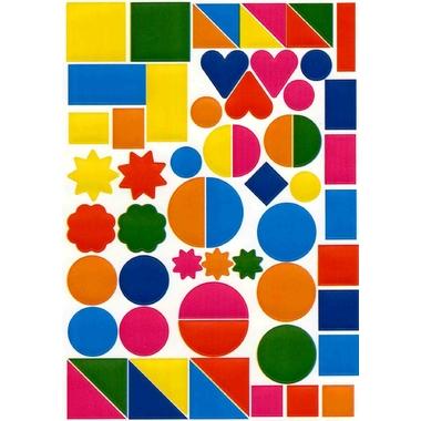 Grosses Gommettes Multicolores