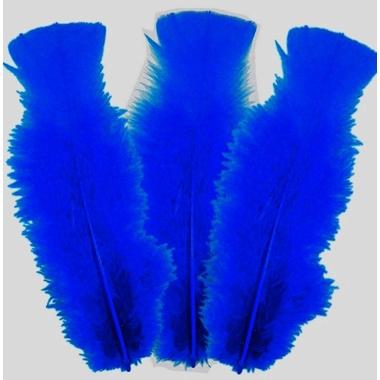 vente plumes decoration paques bleu