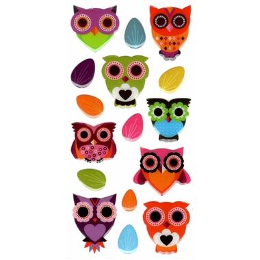 stickers Plastique Hibou