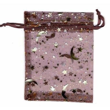 Sachet Organza Chocolat