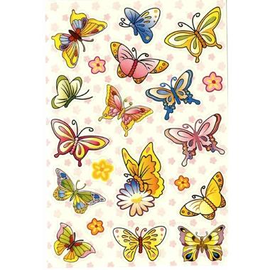 gommettes papillons pas cher