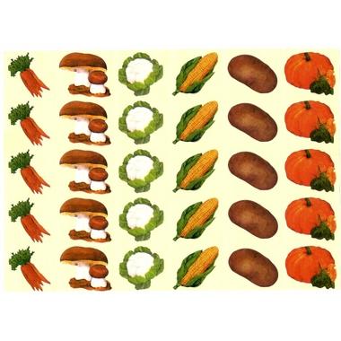 Gommettes légumes d'hiver et d'automne
