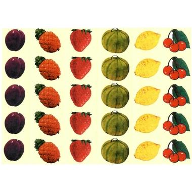 gommettes fruits d ete