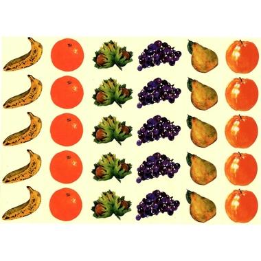 Gommette fruit