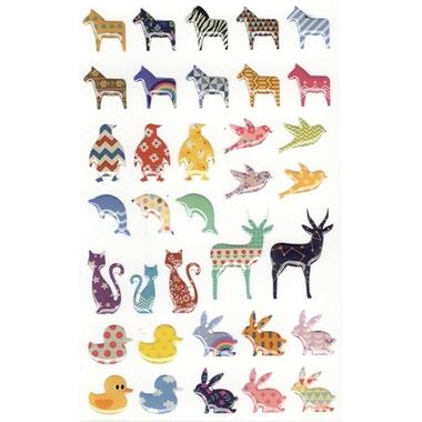 Gommettes animaux 3D