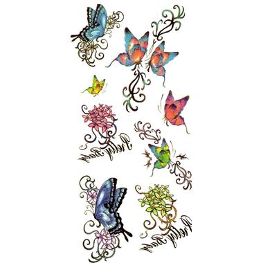 Tatouage temporaire enfant papillon Y020
