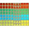 88 gommettes holographiques 15mm