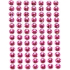 84 Strass Autocollant Rose Fushia 6mm