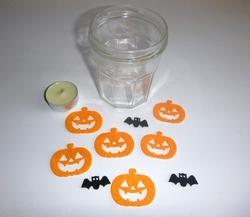 blog halloween idée bricolage gommette 1
