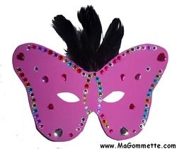 masque de carnaval pour enfants bricolages mardi gras magommette. Black Bedroom Furniture Sets. Home Design Ideas