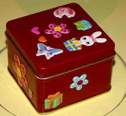 gommette maternelle boite rouge