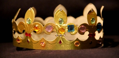 strass autocollant pierre precieuse bijoux couronne galette des rois