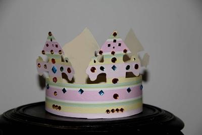 couronne galette rois gommette pierre precieuse