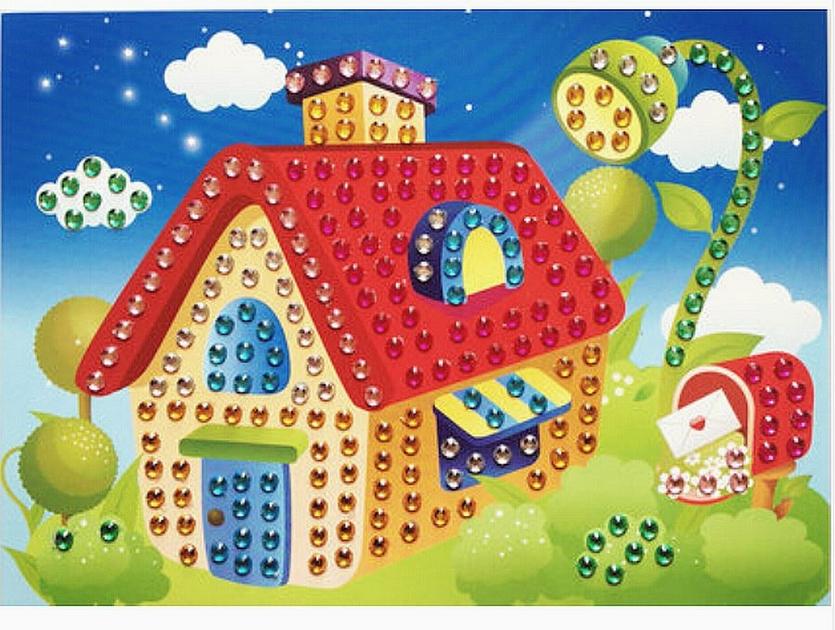 Mosaique Cristal 19x26cm Maison - Kits Creatifs/Kits ...