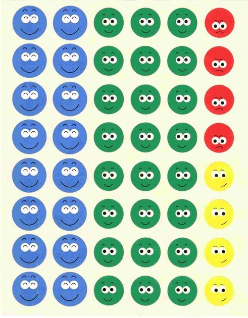 48 gommettes smiley ecole gommettes enfants gommettes maternelle magommette - Image de smiley a imprimer ...