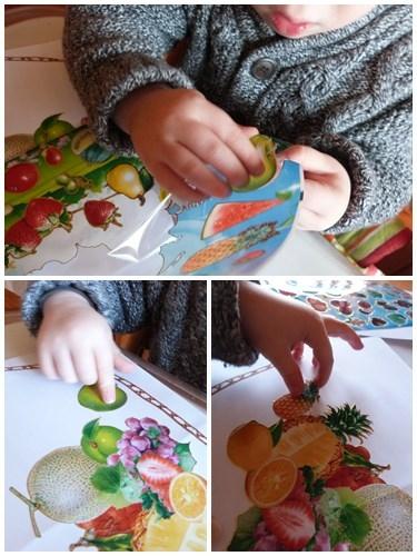 Sticker-fruits-activite-educative