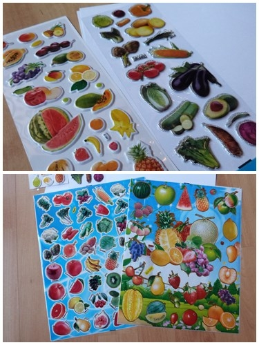 Stickers-fruits-legumes