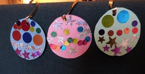 Id es d 39 activit s gommettes blog de ma gommette for Decoration de noel pour enfant