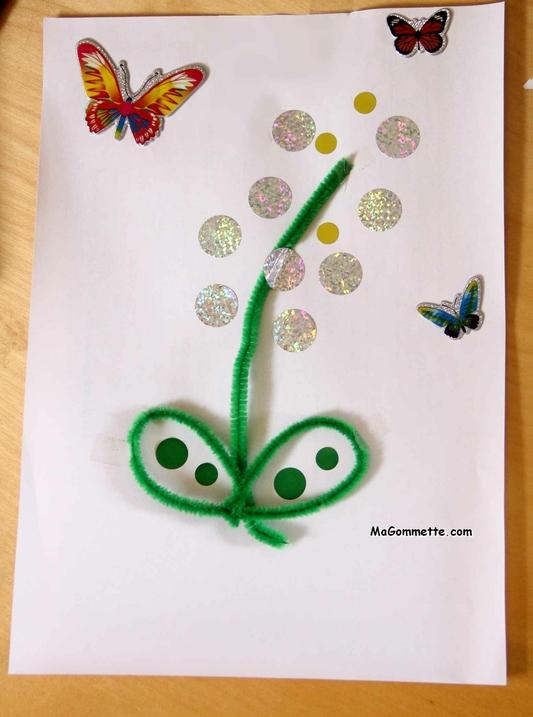 Bricolage Printemps Muguet Du 1er Mai Magommette