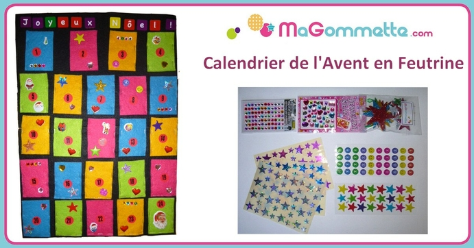 bricolage calendrier de l 39 avent tr s simple bricolages de no l magommette. Black Bedroom Furniture Sets. Home Design Ideas