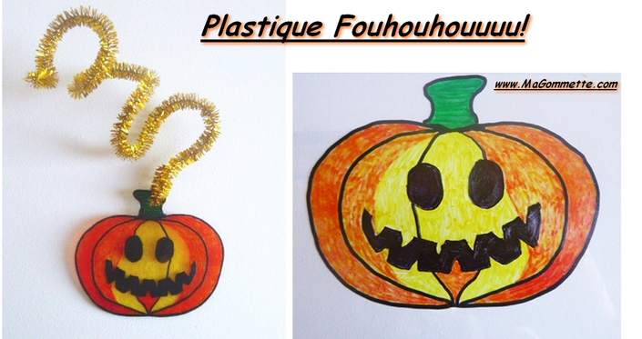 Plastique fou halloween