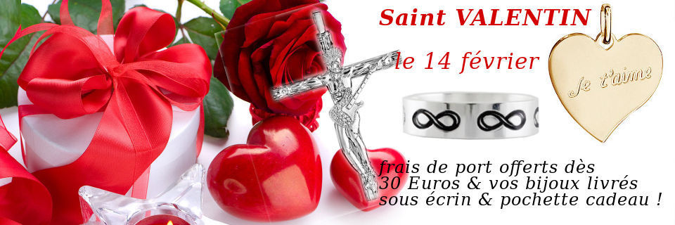 Bijoux Saint Valentin Homme, femme