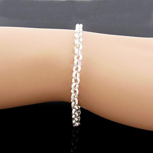 Bijoux Murat Argent 925 : Bracelet argent mailles jaseron mm de diam?tre cm murat