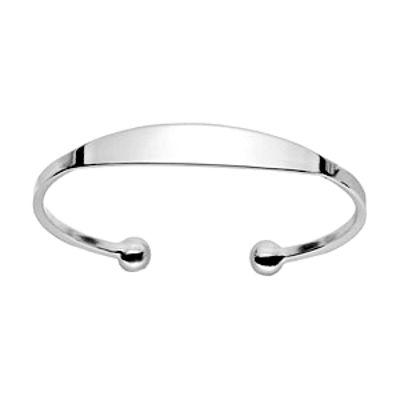 bceccdf72a0e6 Bracelet Jonc Esclave Argent Femme