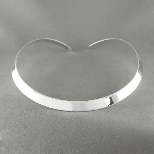 Bijoux Murat Argent 925 : Collier torque rigide largeur mm argent g